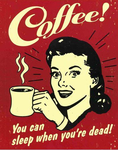 Pij kawę i nie śpij