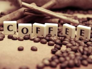 Scrabble z kawą