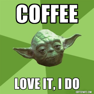 Yoda i kawa