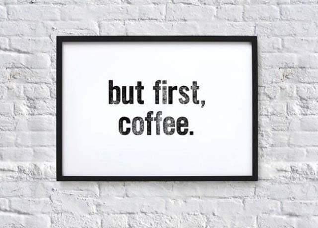 najpierw kawa