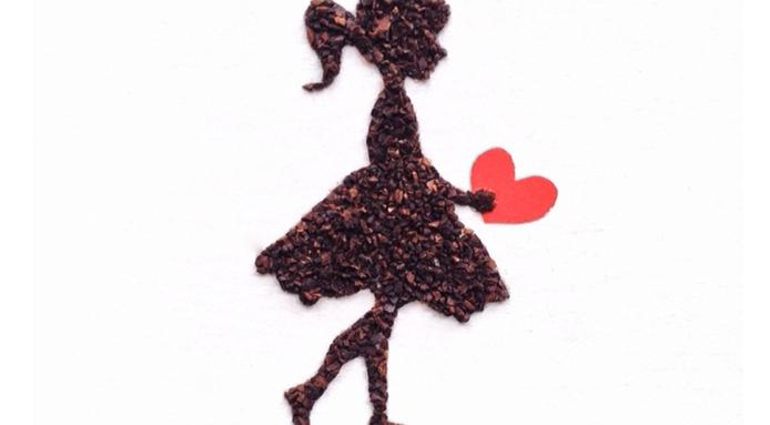 dziewczynka z kawy