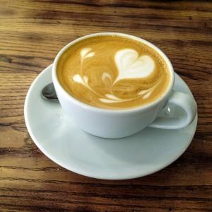 Espresso z mlekiem