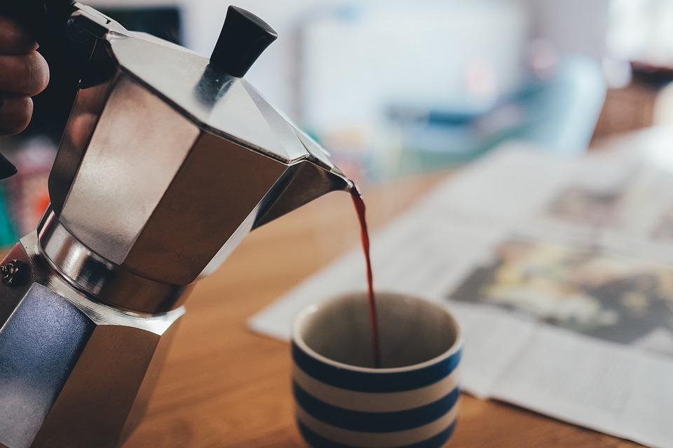 Kawa z kawiarki