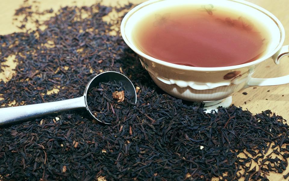 Liście herbaty