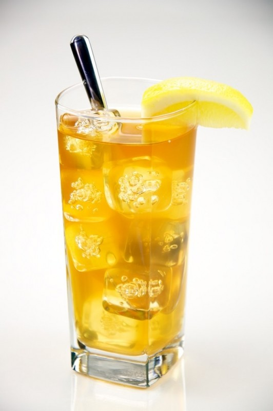 Mrożona herbata z cytrynką