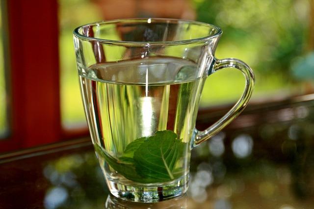 Herbata z miętą