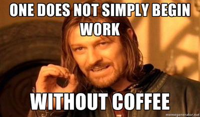 Kawa i LOTR