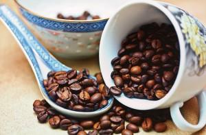 Kawa i ziarenka