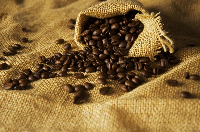 Worek z kawą