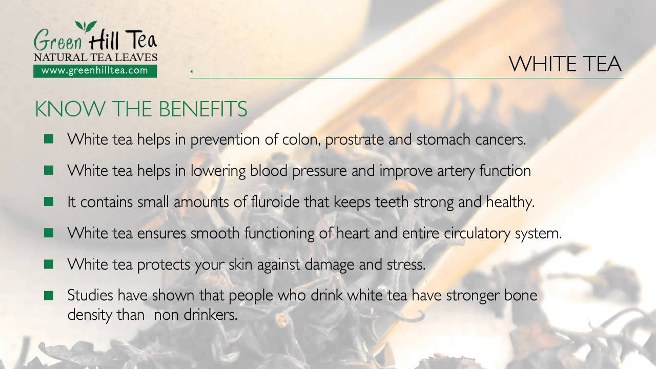 Biała herbata i jej właściwości