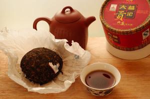 czerwona suszona herbata