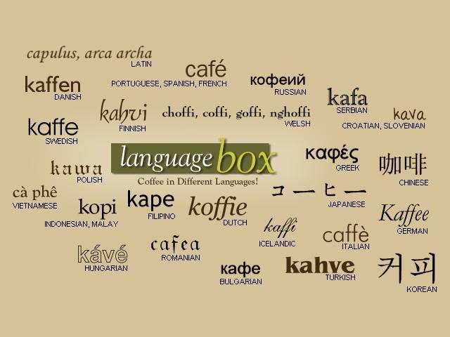 nazwy kawy
