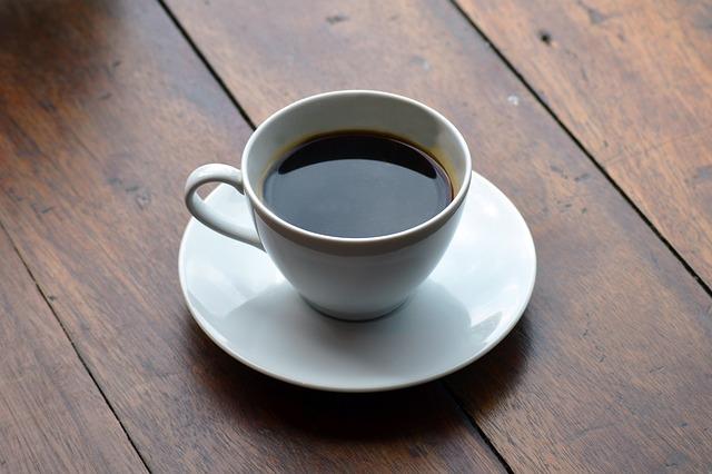 czarna kawa americano