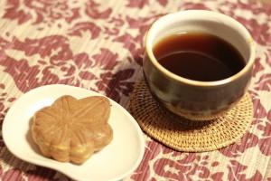 kawa z piernikiem