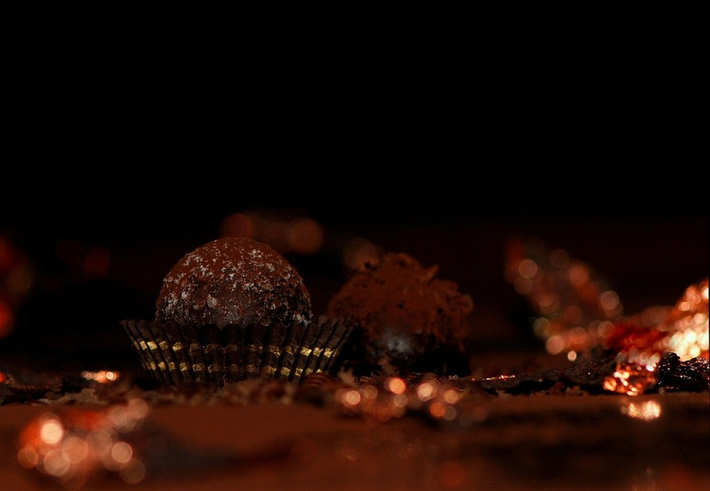 Domowe pralinki czekoladowe