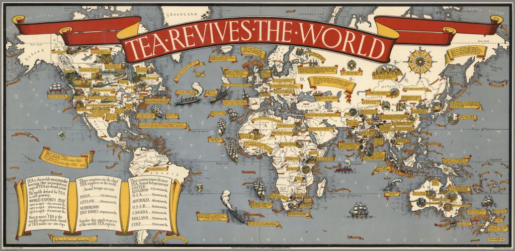 mapa upraw herbaty