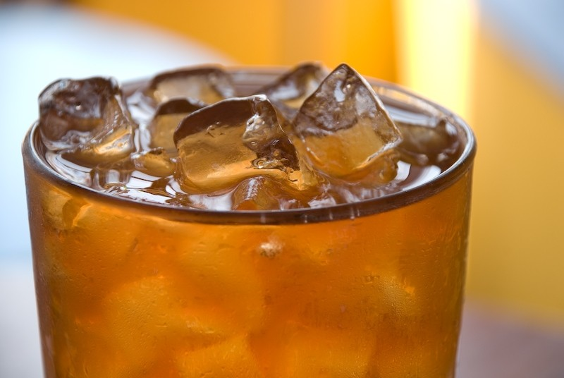 Herbata chryzantemowa na zimno