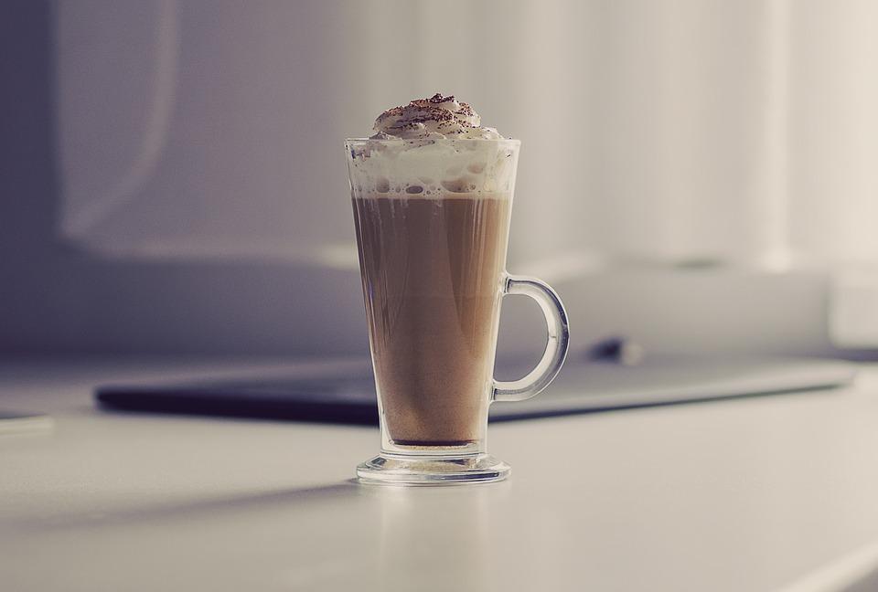 Kawa z posypką