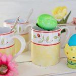 Wielkanocna kawa z jajkiem