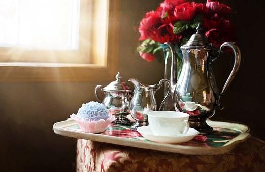 podawanie herbaty