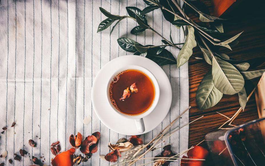 herbatki na sen - napój w dzbanku